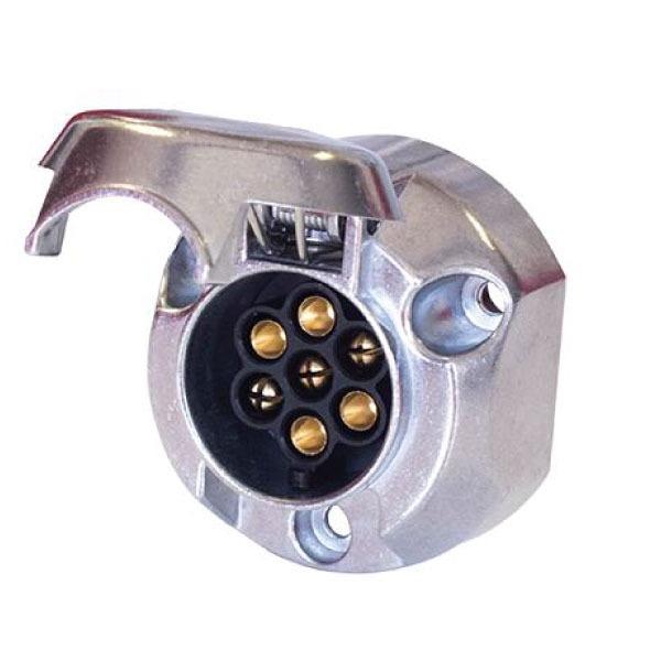 7 Pin Round Din Socket – Metal